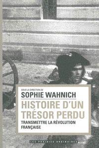 HISTOIRE D'UN TRESOR PERDU