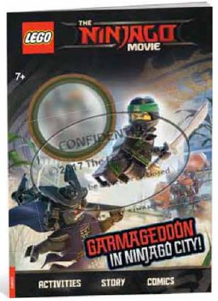 LEGO NINJAGO MOVIE GARMAGEDDON A NINJAGO CITY