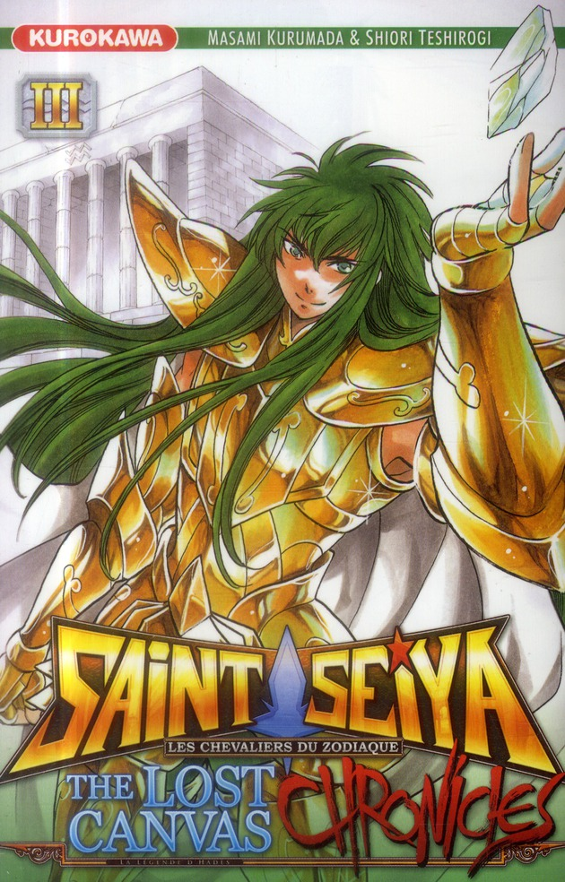 SAINT SEIYA - THE LOST CANVAS - CHRONICLES - TOME 3