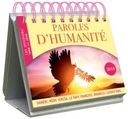 CALENDRIER - ALMANIAK PAROLES D'HUMANITE 2018