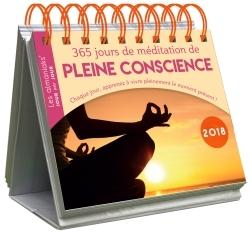 CALENDRIER - ALMANIAK 365 JOURS DE MEDITATION DE PLEINE CONSCIENCE 2018