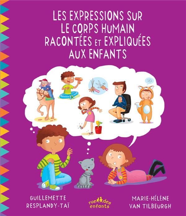EXPRESSIONS SUR LE CORPS HUMAIN RACONTEES ET EXPLIQUEES AUX ENFANTS (LES)