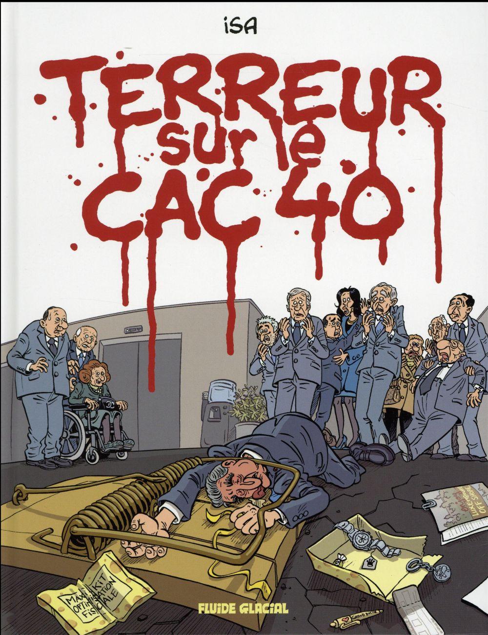TERREUR SUR LE CAC 40