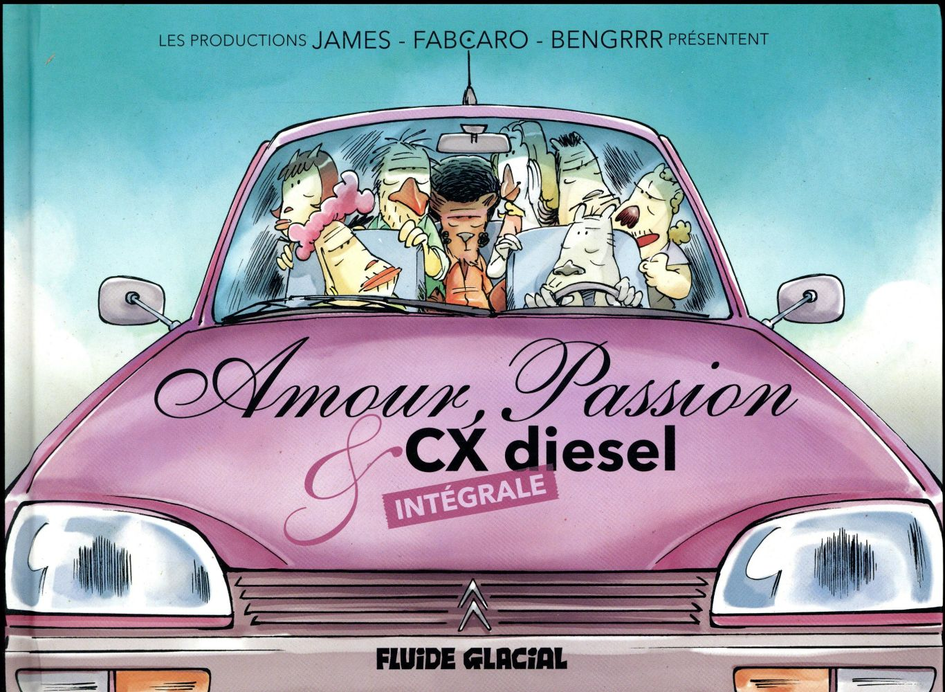 AMOUR PASSION ET CX DIESEL INTEGRALE