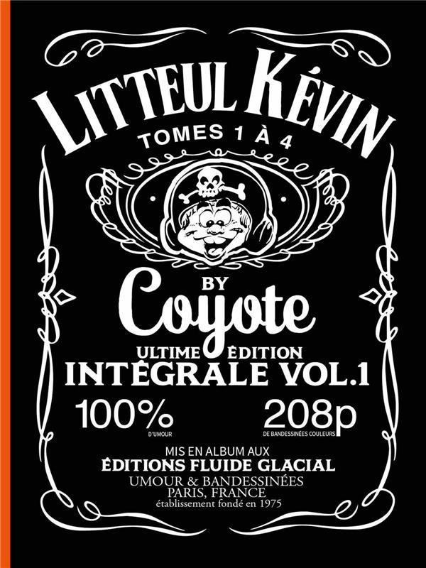 LITTEUL KEVIN INTEGRALE 1 - TOMES 1 A 4