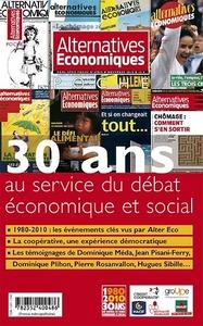 30 ANS AU SERVICE DU DEBAT ECONOMIQUE ET SOCIAL - HORS SERIE POCHE N 45BIS