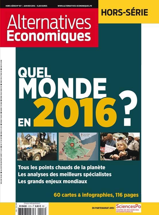ALTERNATIVES ECONOMIQUES - HORS-SERIE - NUMERO 107 L'ETAT DE LA MONDIALISATION