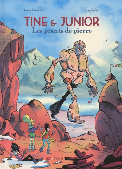 """Résultat de recherche d'images pour """"Tine & Junior - Les géants de pierre"""""""