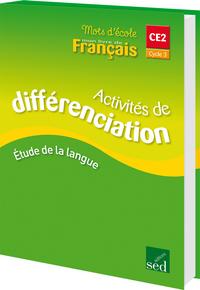 MOTS D'ECOLE CM1 - CLASSEUR DIFFERENCIATION