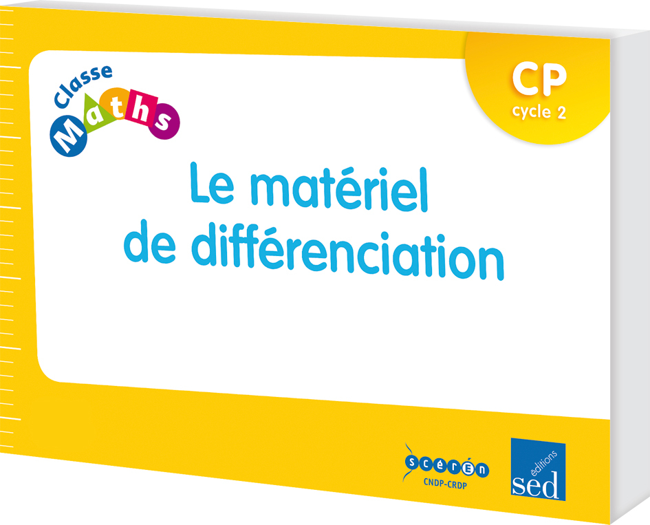 CLASSE MATHS CP MATERIEL DIFFERENCIATION 6 ELEVES