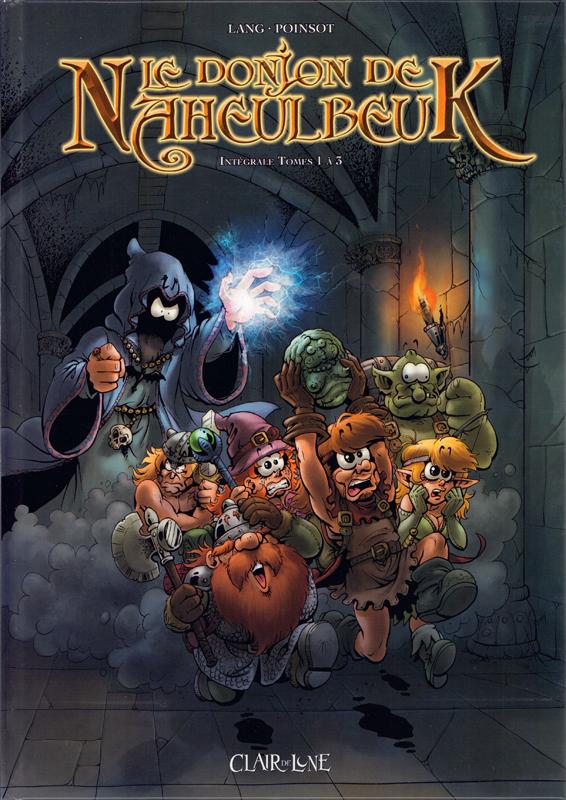 LE DONJON DE NAHEULBEUK INTEGRALE 1 - TOME 1 A 3