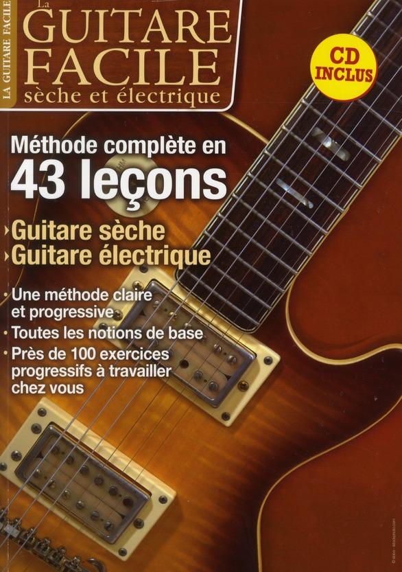 GUITARE FACILE SECHE ET ELECTRIQUE + CD (LA)