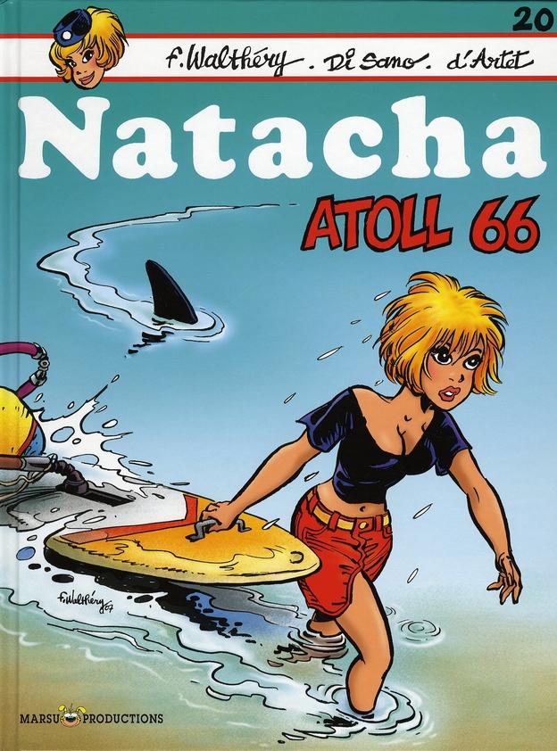 NATACHA HOTESSE DE L'AIR T20 ATOLL 66