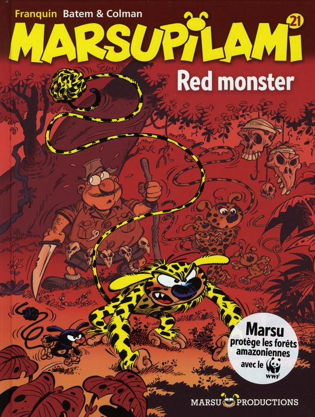 MARSUPILAMI T21 RED MONSTER
