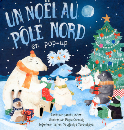 UN NOEL AU POLE NORD EN POP-UP