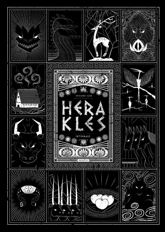 HERAKLES - INTEGRALE N/B