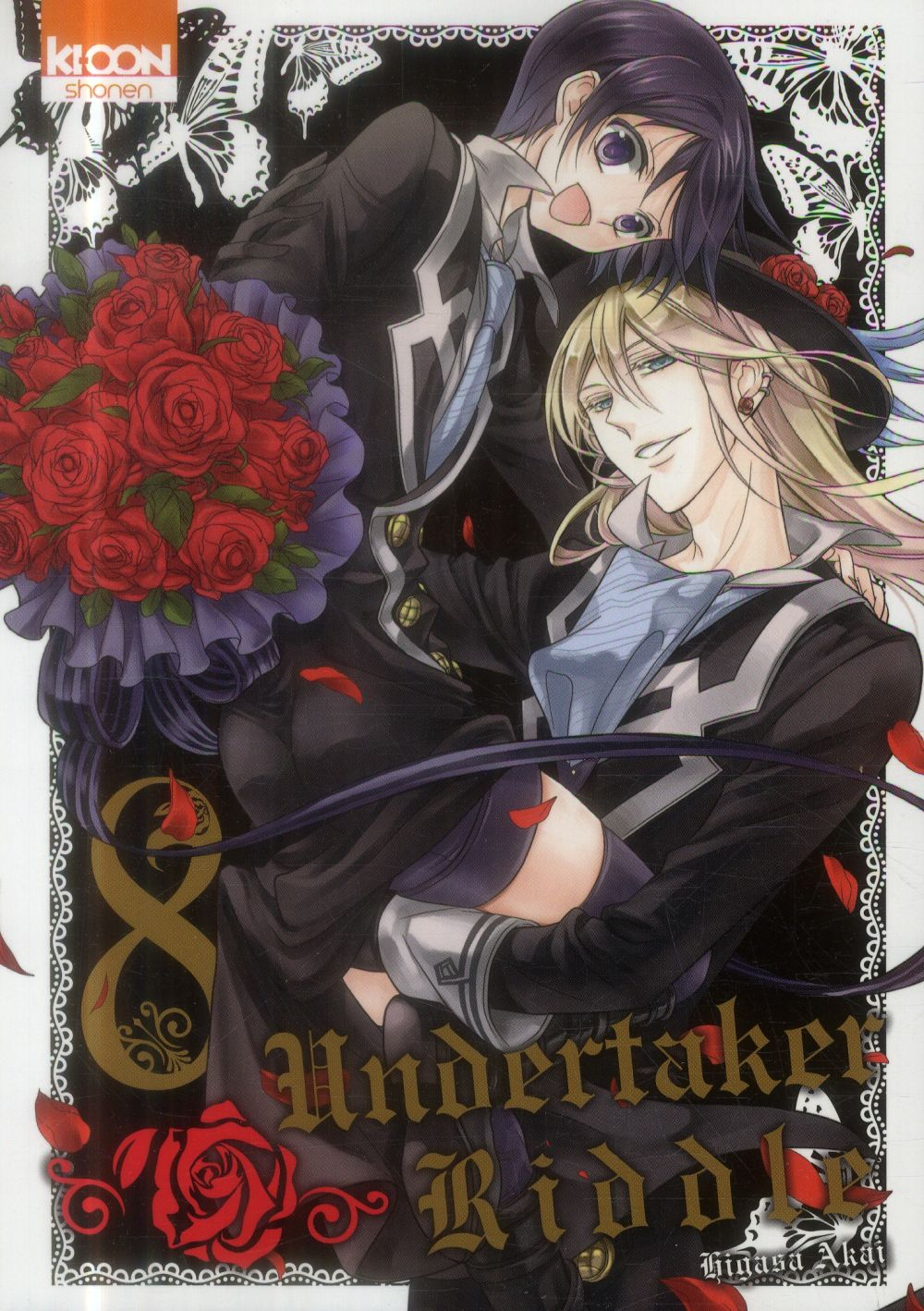 UNDERTAKER RIDDLE T08 - VOL08
