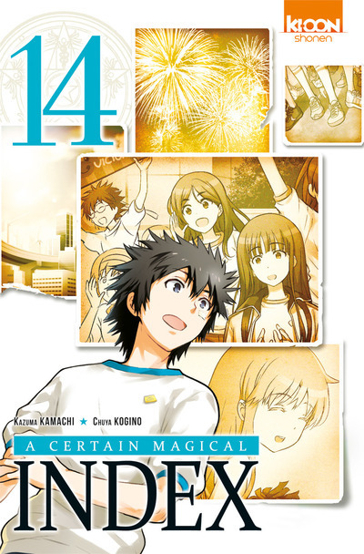 A CERTAIN MAGICAL INDEX T14