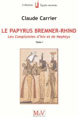 PAPYRUS BREMNER-RHIND TOME 1