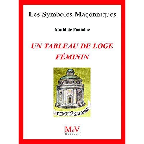 TABLEAU DE LOGE FEMININ N.68 (UN)