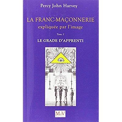 FRANC-MACONNERIE EXPLIQUEE PAR L'IMAGE TOME 1 : LE GRADE DE L'APPRENTI (LA)