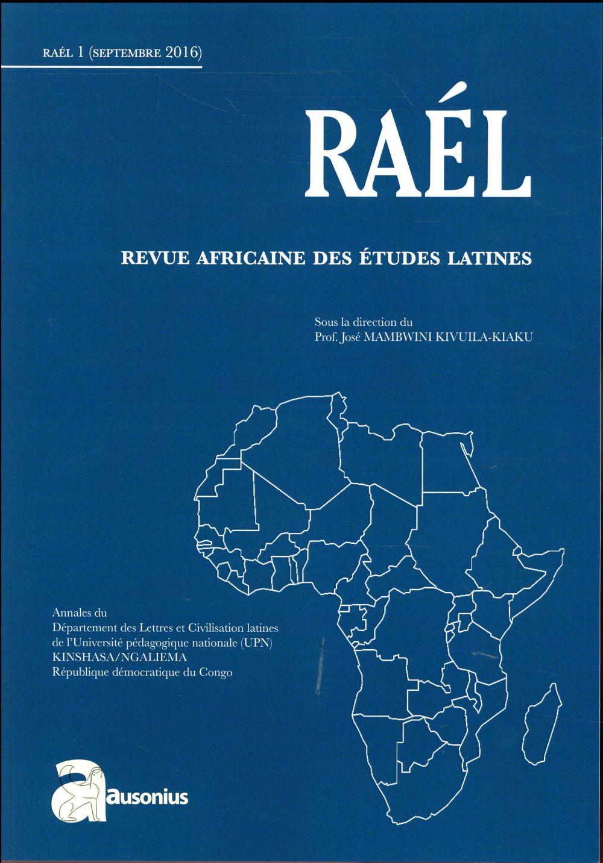 RAEL REVUE AFRICAINE DES ETUDES LATINES