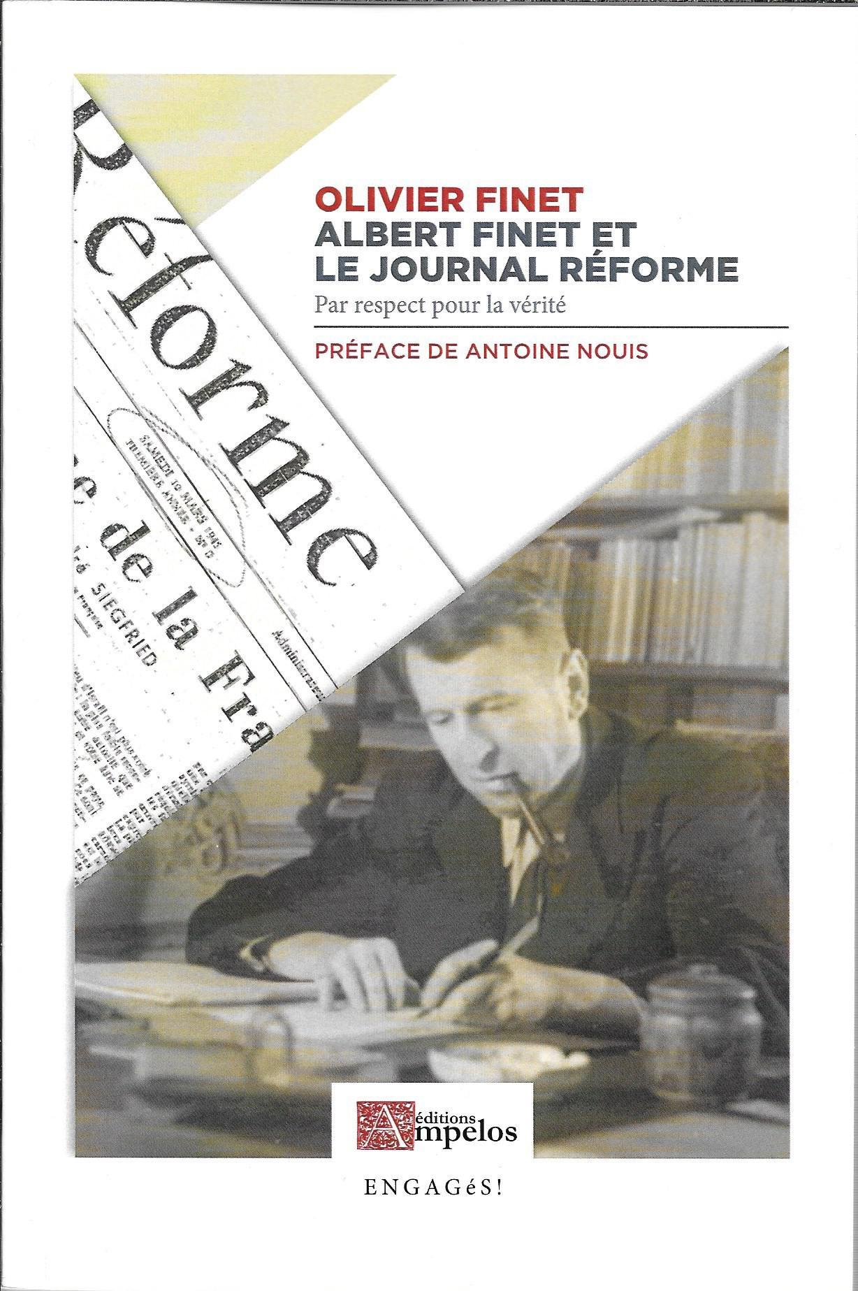 ALBERT FINET ET LE JOURNAL REFORME