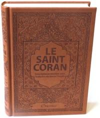 SAINT CORAN - AR/FR/PHONETIQUE - EDITION DE LUXE (COUVERTURE CUIR MARRON)