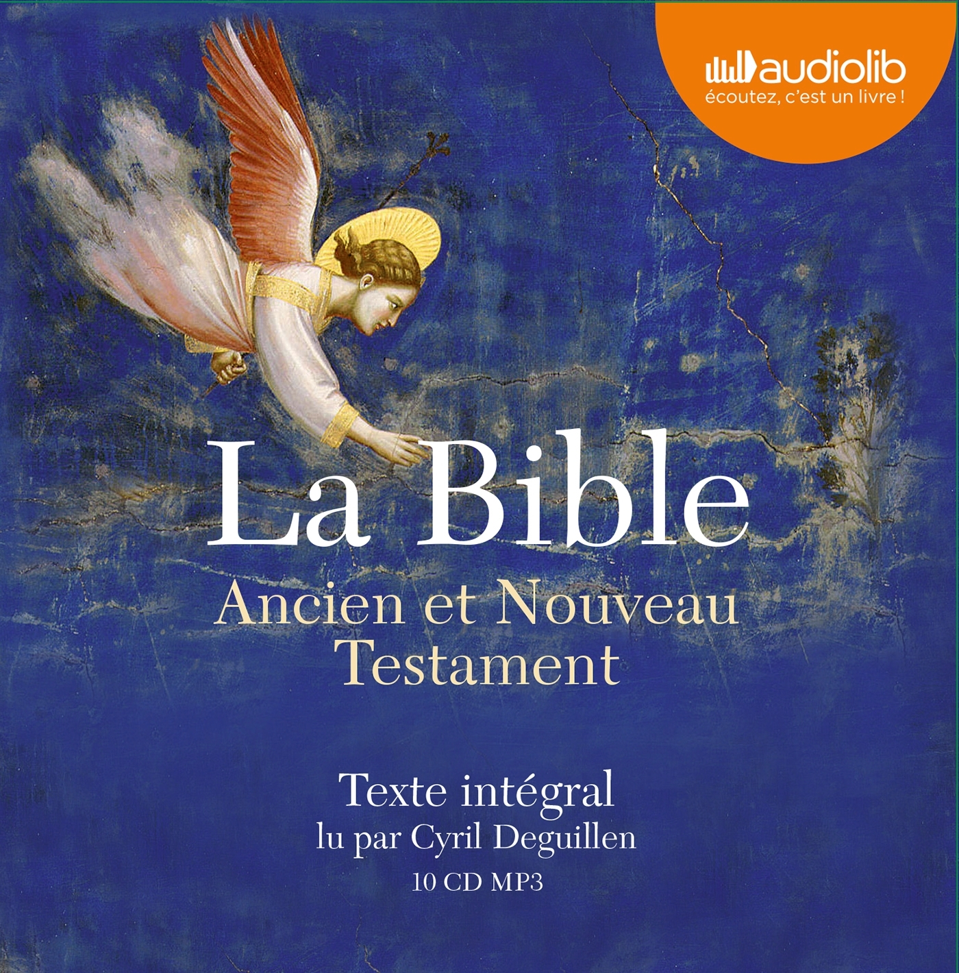 LA BIBLE - LIVRE AUDIO 10 CD MP3 - LIVRET 32 PAGES