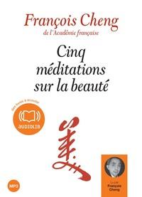 CINQ MEDITATIONS SUR LA BEAUTE - LIVRE AUDIO 1 CD MP3