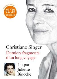 DERNIERS FRAGMENTS D'UN LONG VOYAGE - LIVRE AUDIO 1 CD MP3