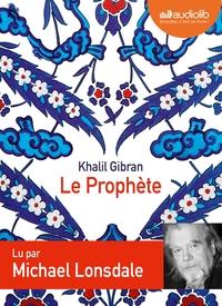 LE PROPHETE - LIVRE AUDIO 1 CD AUDIO