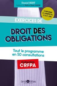 EXERCICES DE DROIT DES OBLIGATIONS