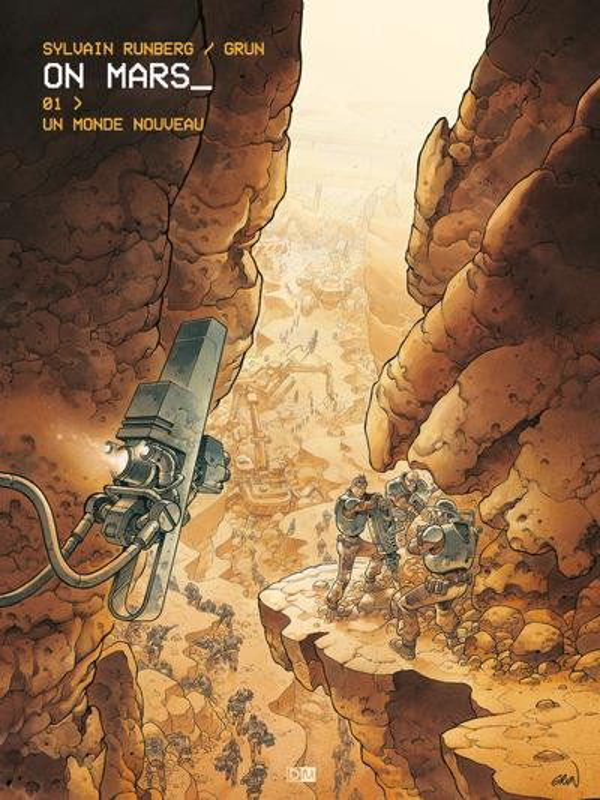 ON MARS - TOME 1 UN MONDE NOUVEAU