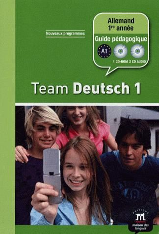 TEAM DEUTSCH 1 - 2 CD ROM PEDAGOGIQUE