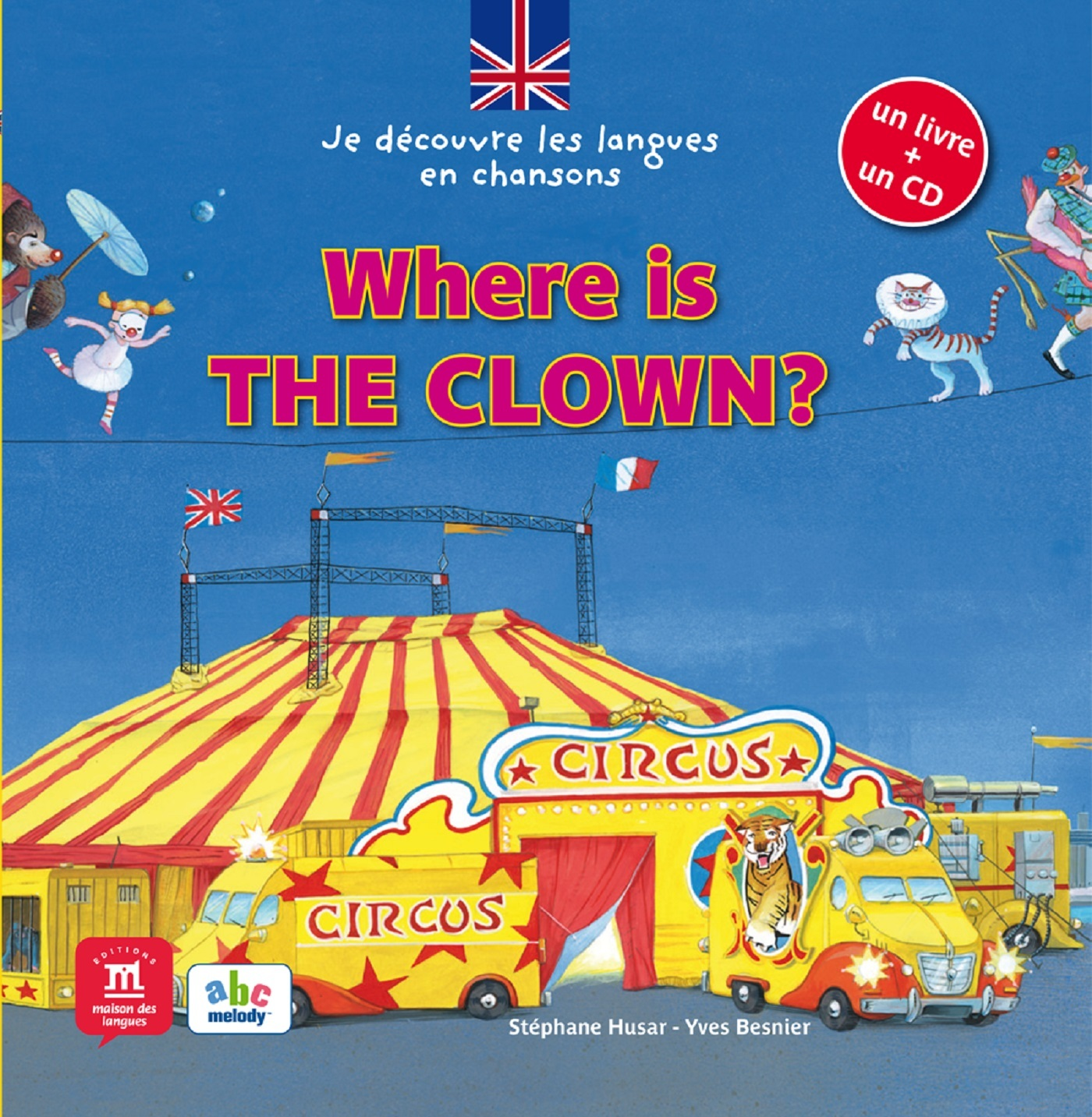 WHERE IS THE CLOWN + CD