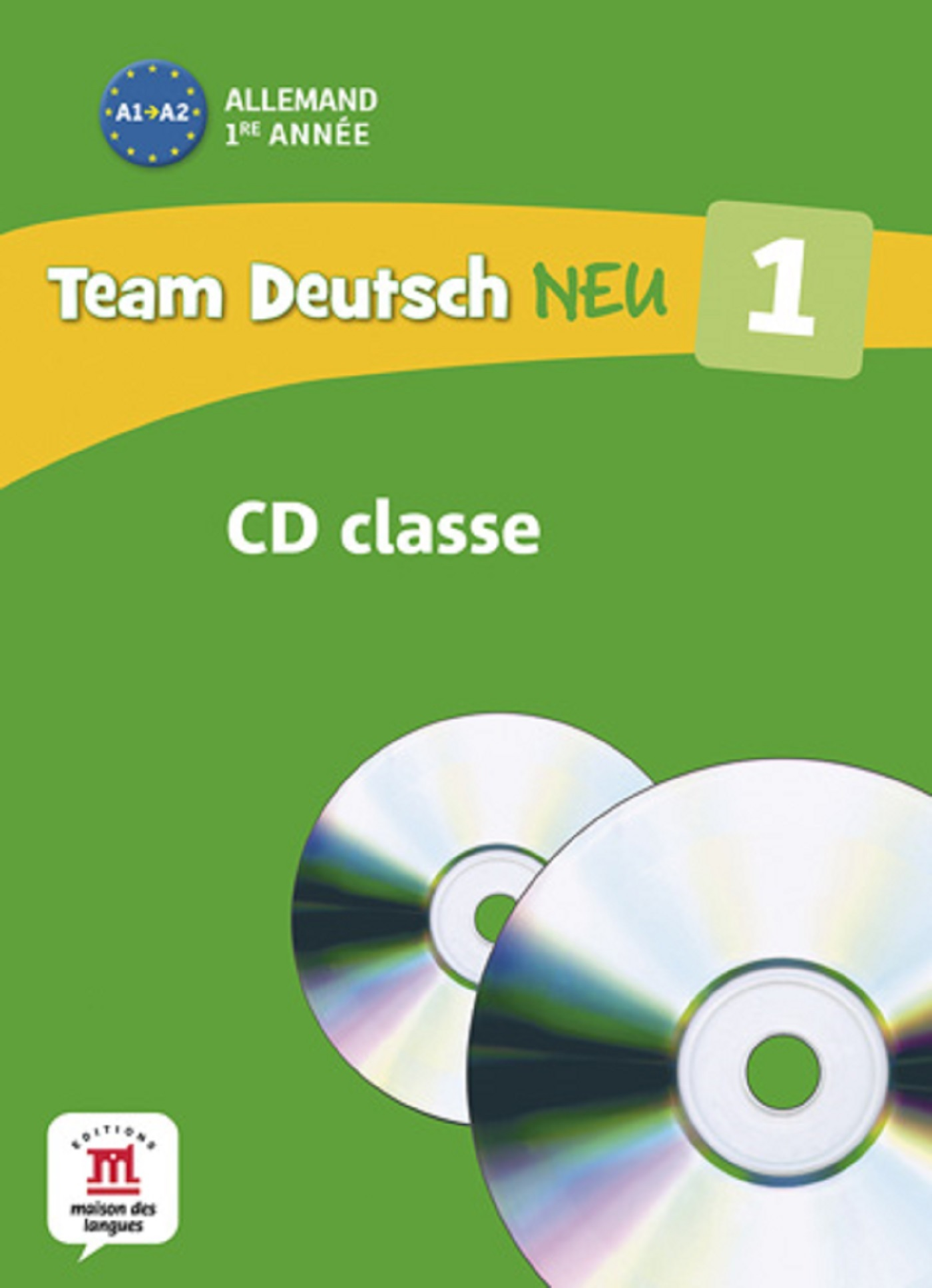 TEAM DEUTSCH NEU 1 COFFRET 2CD POUR LA CLASSE