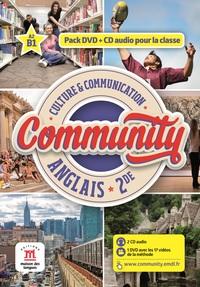 COMMUNITY 2NDE - CD AUDIO + DVD CLASSE