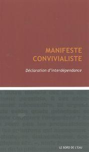 MANIFESTE CONVIVIALISTE