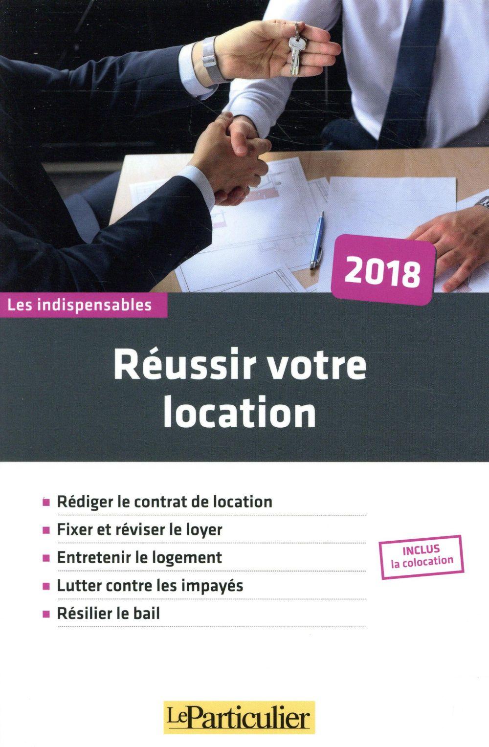 REUSSIR VOTRE LOCATION 2018