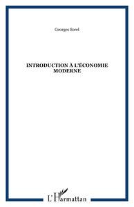 INTRODUCTION A L'ECONOMIE MODERNE
