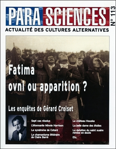 PARASCIENCES N 113 - FATIMA OVNI OU APPARITION ?