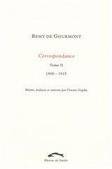 CORRESPONDANCE 2 (1900-1915)