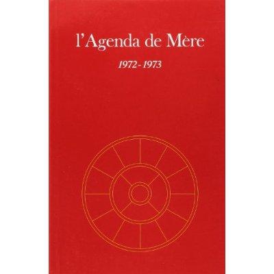 AGENDA DE MERE - TOME 13 - 1972-1973 - NE