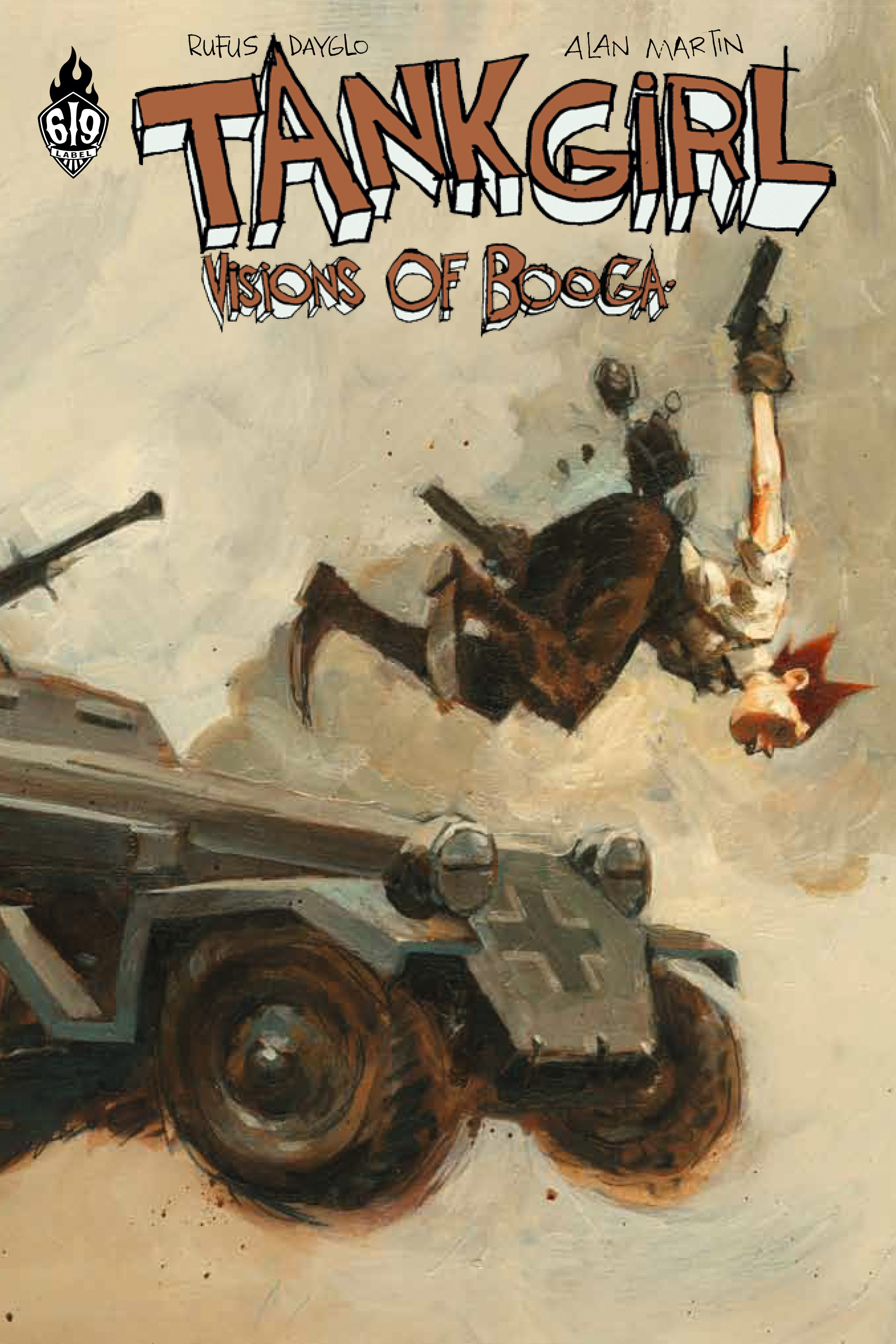 TANK GIRL VISIONS OF BOOGA