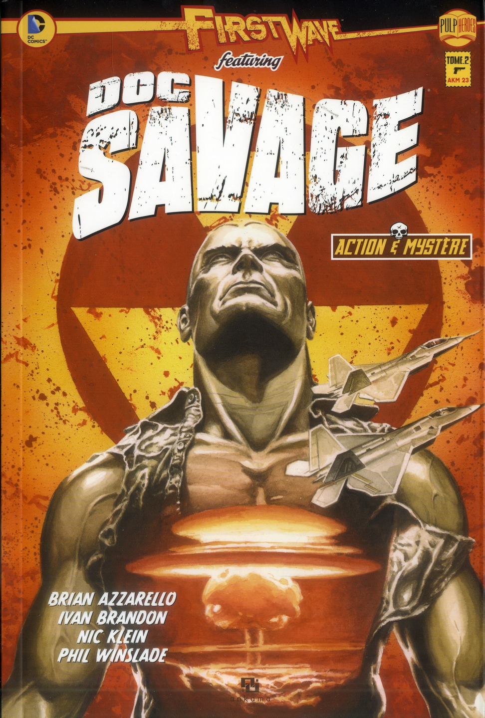 FIRST WAVE DOC SAVAGE T01