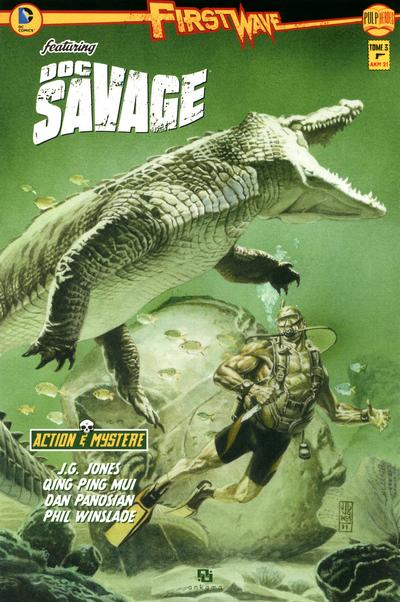 FIRST WAVE DOC SAVAGE T03