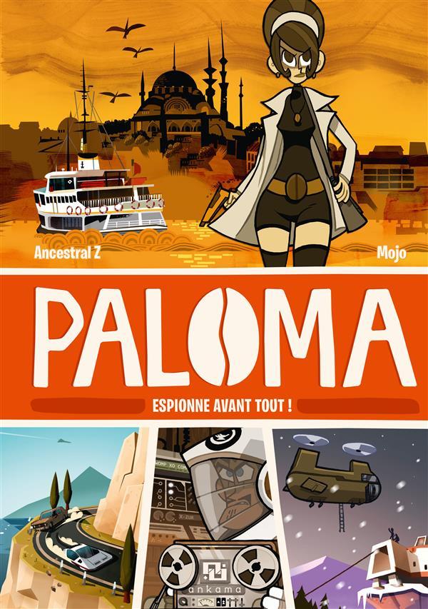 PALOMA T01 ESPIONNE AVANT TOUT