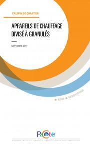 APPAREILS DE CHAUFFAGE DIVISE A GRANNULES