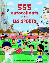 LES SPORTS- 555 AUTOCOLLANTS